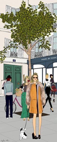 Marche St Honore - Angéline Mélin