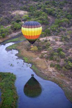 Hot Air Balloon Safari - Kapama Lodge, Kapama Private Game Reserve, South Africa