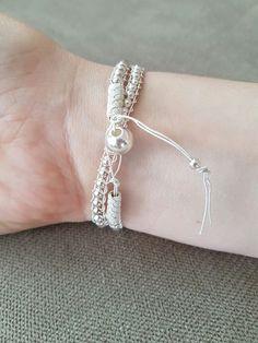 Turkish Knot, Kazaziye, Yeminli sürgü, silver balls, gümüş toplar, like leather bracelet