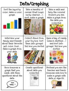 Number sense choice board kindergarten 2017 pinterest math datagraphing choice board pronofoot35fo Gallery