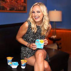 Malin Akerman and Muller Yogurts