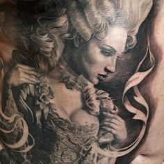 Countess Tattoo by Carlos Torres Art