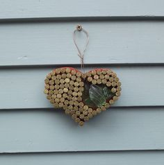country rustic heart gun shell casing by PiecesofhomeMosaics, $11.25