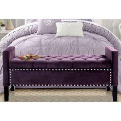Lance Upholstered Storage Bedroom Bench