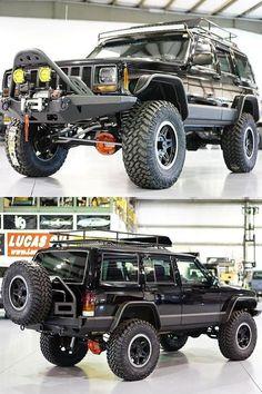 Restored 1999 Jeep Cherokee XJ Classic by Davis AutoSports - ModifiedX Jeep Cherokee Sport, Jeep Cherokee Trailhawk, Cherokee 4x4, Jeep Grand Cherokee Zj, Modificaciones Jeep Xj, Jeep Xj Mods, Jeep Truck, Jeep Commander, Old Jeep