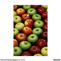Red and Green Apples Poster #Red and #Green #Apples #Poster http://www.zazzle.com/red_and_green_apples_poster-228359159923370961?size=%5B24.0000%2C36.0000%5D&ratio=0.666666666666667&CMPN=shareicon&lang=en&social=true&view=113381087925757000&rf=238616195033801520