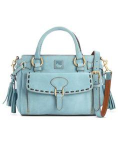 Dooney & Bourke Handbag, Florentine Vachetta Medium Pocket Satchel - Dooney & Bourke - Handbags & Accessories - Macy's