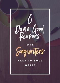 Songwriting tips for my creative heart followers: Every songwriter still needs to solo write. Here's why it's so important.