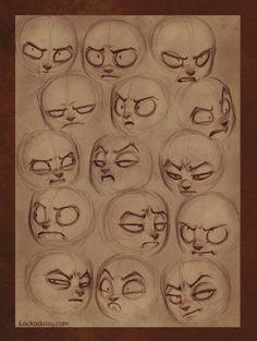 Как создавать различные эмоции персонажа - Журнал - CGHell.com