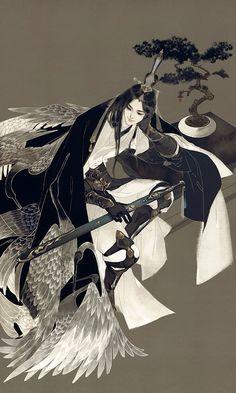 Môn phái: Thuần Dương - Game: VLTK 3D - Artist: 伊吹五月 (Ibuki Satsuki) | Periacon Anso