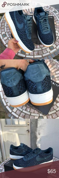 NIKE AUTHENTIC MENS AIR FORCE 1 Sz 10.5 New NIKE AUTHENTIC MENS AIR FORCE 1  Sz