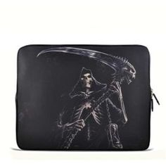 "Devil Reaper 17.1"" 17.3"" inch Laptop Bag Sleeve Case for Apple MacBook pro 17/Dell Inspiron 17R Vostro XPS Alienware M17x/Samsung 700 Sony Vaio E 17/ HP dv7 ENV"
