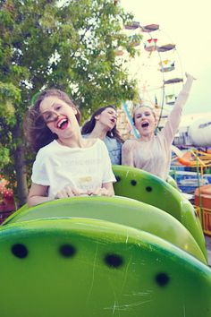 Are we there yet????? Badila Spring-Summer '15 Amusement park isn't just for kids! Right?