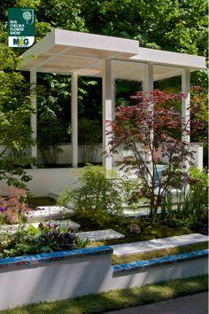 RHS Chelsea Flower Show - Artisan Garden - Arita Team SAGA Shuko Noda Iwao Jiki Kogyo Ltd, Hanamizuki