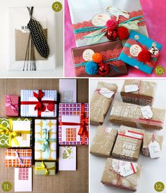 DIY make beautiful ribbons and bows for your packages and gifts!! Holidays, birthdays, all sorts of gift giving.. Great blog with how-to's! :)