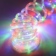 #Happy #Holidays #Christmas #Fall #Decorations 18' LED Rope/Tube Light - Multi 905934 - oogalights.com
