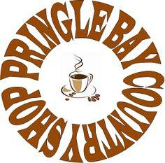 New Logo: Pringle Bay Country Shop Country Shop, Coffee Corner, Decorative Plates, Logo, Store, Shopping, Home Decor, Coffee Area, Logos
