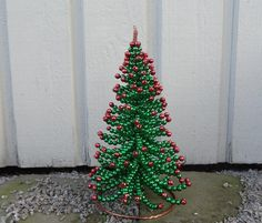 Sparkling Christmas Tree Tutorial Beading by FlorenHandicrafts