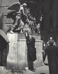 Kees Scherer     Trevi Fountain , Rome  1957-1963
