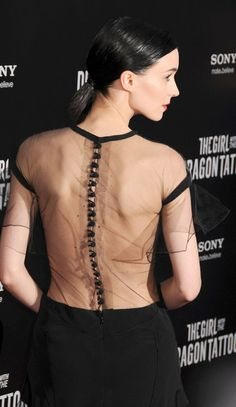 Rooney Mara at the The Girl With the Dragon Tattoo premiere in New York City, December 2011