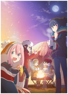 Yuru Camp Darkneel 2