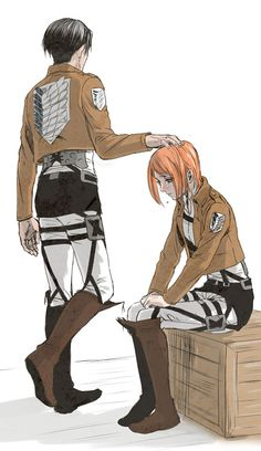 Levi and Petra // AoT