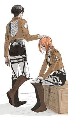 Levi and Petra // AoT