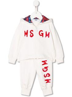 MSGM KIDS LOGO印花运动套装. #msgmkids #cloth Msgm Kids, Tracksuit Set, Kids Logo, Cotton Logo, Kids Fashion, Fashion Design, Hoodies, Sweatshirts, Baby Design