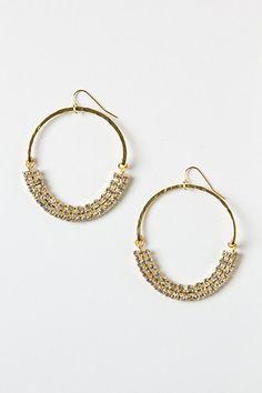 Tara Swing Earrings  #anthropologie