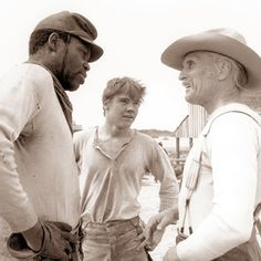 """Newt Dobbs and Roscoe Brown share behind-the-scenes stories from the making of """"Lonesome Dove."""""""