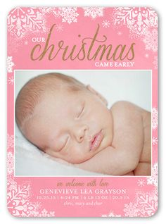 Dusted Flakes Girl 5x7 Stationery Card by Petite Lemon | Shutterfly