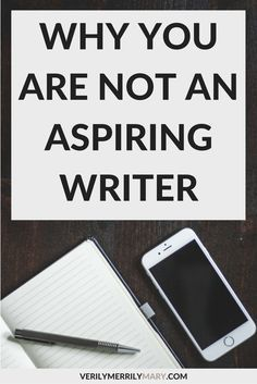 "We use the words ""aspiring writer"" to label the wrong people. If you are a newbie to writing, you are a writer, not an aspiring one. Fiction Writing, Writing Quotes, Writing Advice, Writing Resources, Writing Help, Writing Skills, Writing A Book, Writing Corner, Memoir Writing"
