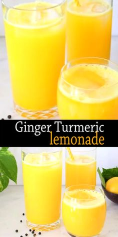 Healthy Juice Recipes 598767712946141313 - Fresh ginger turmeric lemonade recipe made whole foods: fresh ginger and turmeric root and a touch of black peppercorns to boost the absorption of curcumin and stimulate the taste buds. Healthy Juice Recipes, Healthy Juices, Healthy Smoothies, Healthy Drinks, Smoothie Recipes, Whole Food Recipes, Detox Drinks, Healthy Detox, Healthy Weight