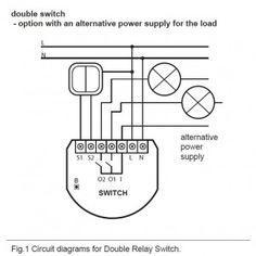 Fibaro Relay Wiring