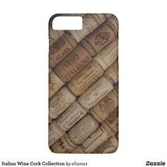 Make your iphone stand out with this wine cork phone case. Impact resistant.For iphone 7/8 Plus #customize #lightweight #iphone7/8plus #glossyfinish  AFFILIATE LINK