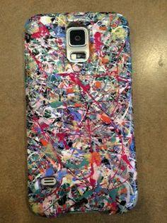 Splatter Phone Cases by Grace by PrettyNiftyArt on Etsy