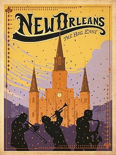 New Orleans Poster | Vintage Travel Posters and Vintage Prints