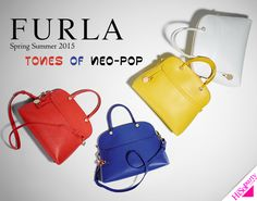 FURLA Spring Summer 2015 TONES OF NEO-POP » Shopaholic | HiSoParty.COM