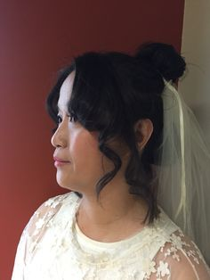 Taiwanese bride. Hair and makeup by Intrigue