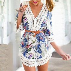 Paisley Print Tunic. Back to School SALE at YesStyle.com get up to 60% off fashion and accessories. Use coupon BTS10 to get $10 off $99 on your purchase!