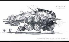 The Matrix: 70 Original Concept Art Gallery