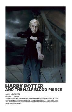Draco Harry Potter, Harry Potter Poster, Harry Potter Half Blood, Images Harry Potter, Harry Potter Movies, Film Polaroid, Iconic Movie Posters, Iconic Movies, Film Poster Design