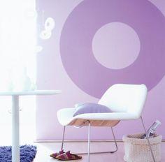 Die 42 besten bilder von farbkombinationen in violett for Flieder grau wandfarbe