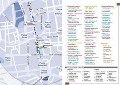 Mappa e directory delle attività commerciali che contribuiscono alla promozione del Centro Storico di Catania