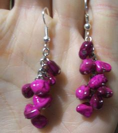 Dangly Earrings Handmade Jewelry Handmade by MadeByTheHearth, $5.00