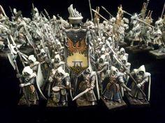 Warhammer FB   High Elves   Phoenix Guard conversion #warhammer #ageofsigmar #aos #sigmar #wh #whfb #gw #gamesworkshop #wellofeternity #miniatures #wargaming #hobby #fantasy
