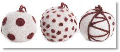 Winner of our Christmas Felted Bauble kit giveaway · Felting | CraftGossip.com