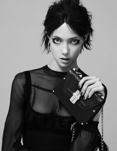 #nocturne mini box bag  AW12 Nocturnal Chic  #AngelJackson look book campaign shot by Sarah Piantadosi