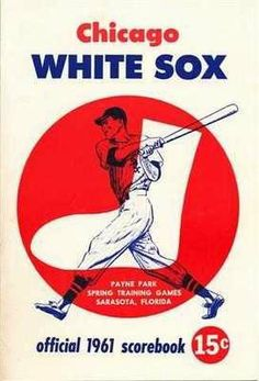 1961 CHICAGO WHITE SOX VS DETROIT TIGERS PROGRAM . $40.00. 1961 CHICAGO WHITE SOX VS DETROIT TIGERS PROGRAM Photo Description 1961 CHICAGO WHITE SOX VS DETROIT TIGERS SPRING TRAINING PROGRAM. PROGRAM IS UNSCORED AND PROGRAM IS IN VERY NICE NEAR MINT OR BETTER CONDITION - SEE SCANS. ALSO INCLUDED IS THE 1961 SPRING TRAINING ROSTER SHEET FOR BOTH TEAMS THAT CAME WITH PROGRAM - SEE SCAN. S. ITEM PICTURED IS ACTUAL ITEM BUYER WILL RECEIVE. GREAT, AUTHENTIC BASEBALL COLLECTI...
