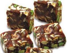 Baked kesari sandesh with sugar free recipe debjanir rannaghar khajur burfi or rolls birthday gifts onlineonline negle Images